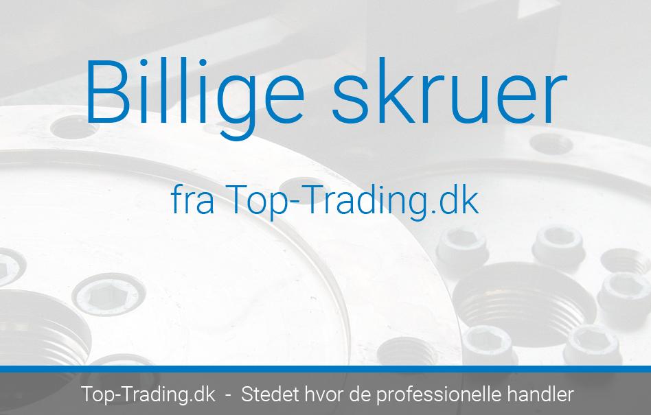 Billige skruer fra top-trading